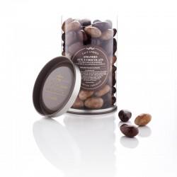 Amandes au trois chocolats