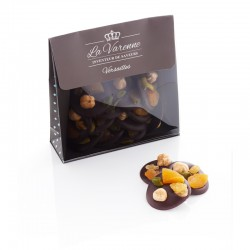 "BLACK CHOCOLATE  ""MENDIANTS"""